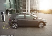 used electric car