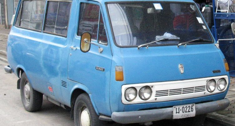 First Toyota van