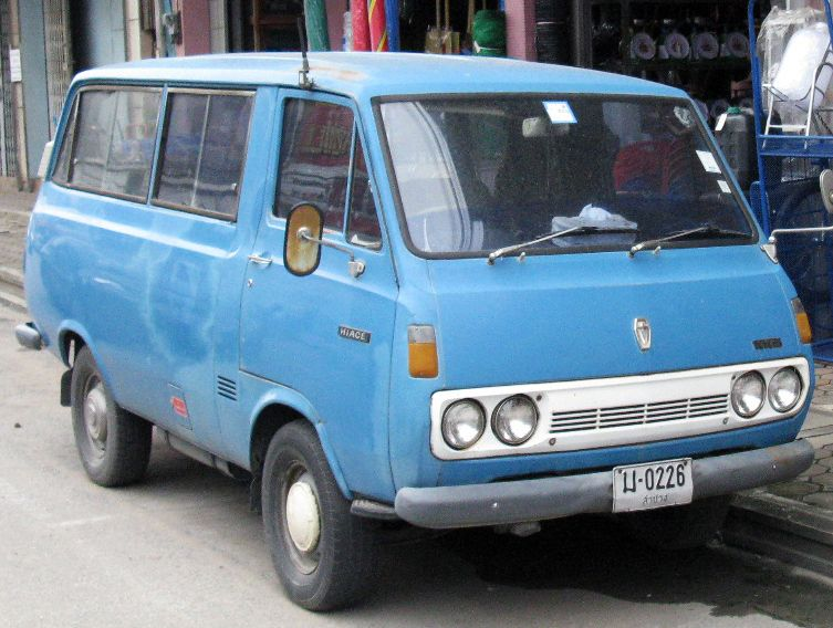 First Toyota van
