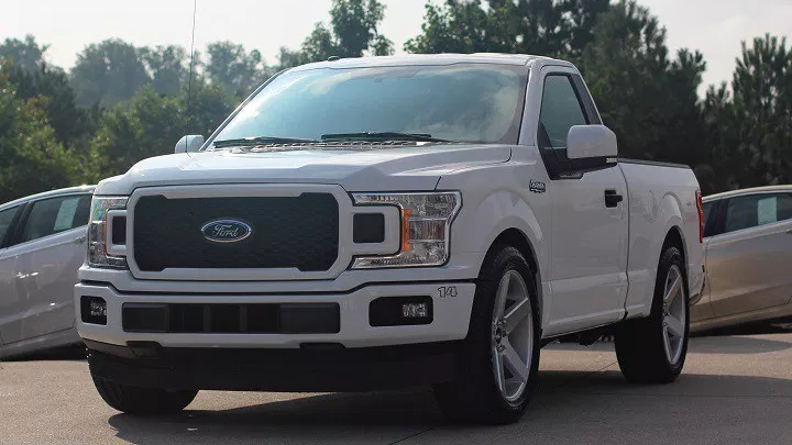 Ford 150 lighting tribute
