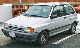 Ford festiva history