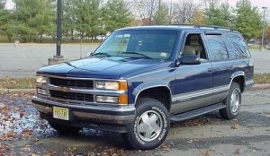 Third generation of Chevrolet Tahoe