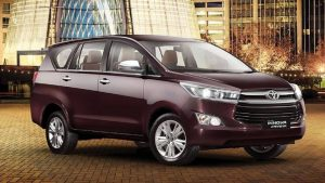 Toyota models in India