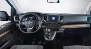 Toyota van 2020