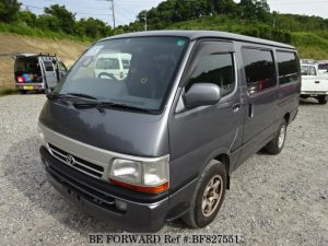 the fourth generation of Toyota hiAce