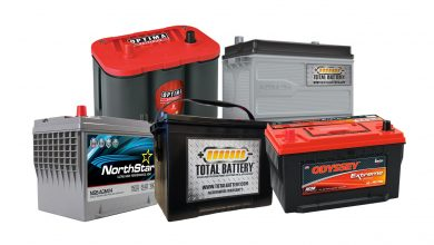 types of automotive battery