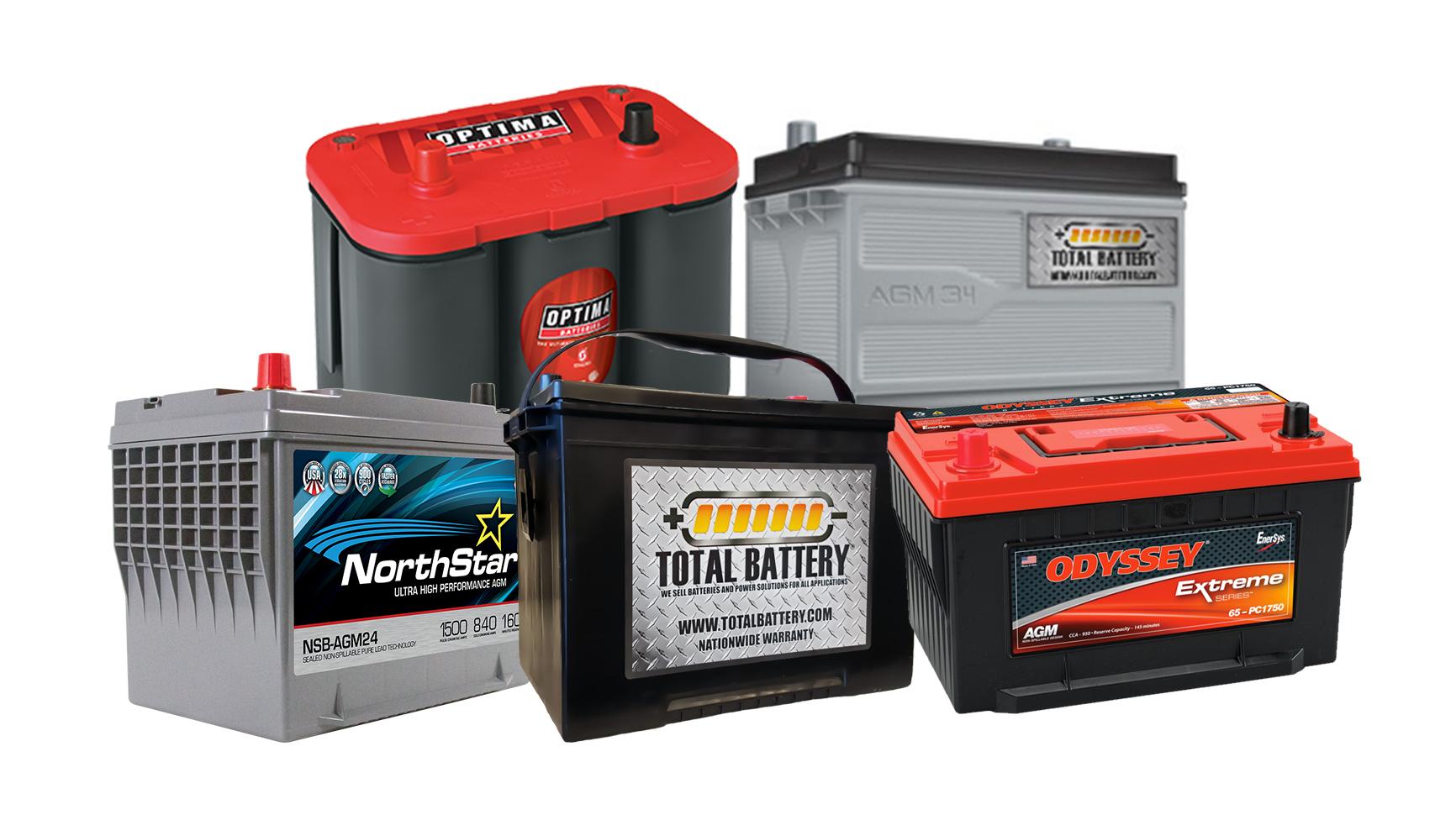 types of automotive battery