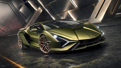 Lamborghini's first hybrid car
