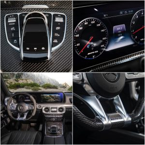 Mercedes G class interior