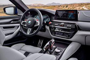 BMW M5 2020 interior