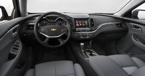 Chevrolet Impala 2020 interior
