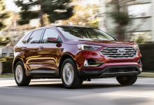 Ford Edge 2020 interior