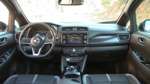 Nissan leaf 2019 interior