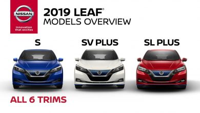 Nissan leaf 2019 models