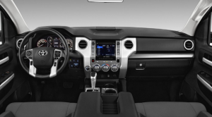 Toyota Tundra 2021 interior