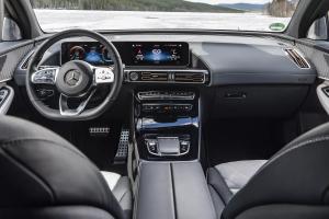 Mercedes-Benz EQC 2020.Interior