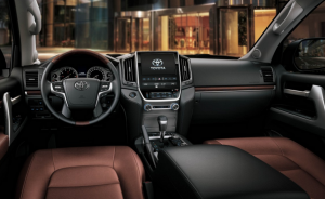Toyota Land Cruiser 2020,Interior