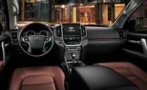 Toyota Land Cruiser 2020,Interior