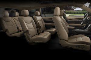 Cadillac XT6 2020 interior
