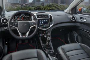 Chevrolet Sonic 2020.Interior