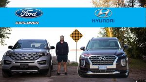 Ford Explorer 2020 vs Hyundai Palisade 2020