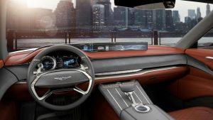 Genesis GV80 2021 interior