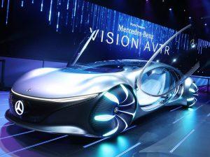 Mercedes Benz Vision AVTR