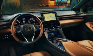 Toyota Avalon 2020.Interior