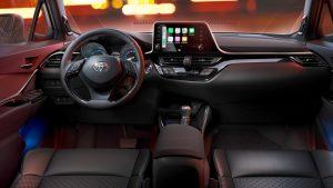 Toyota C-HR 2020.Interior