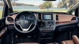 Toyota sienna 2020 interior
