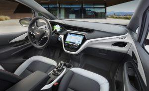 chevy Bolt Ev 2020.interior