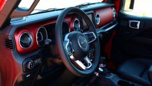 jeep gladiator 2020 interior
