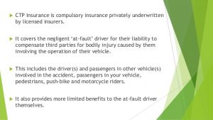 Compulsory third party insurance
