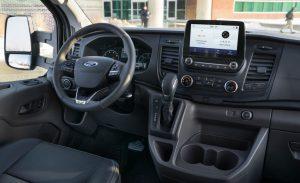 Ford Transit 2020.Interior