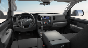 The Toyota Sequoia 2020.Interior