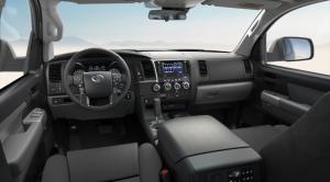 The Toyota Sequoia 2020.Interior