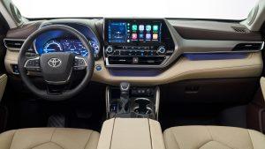 Toyota Highlander 2020.Interior