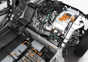 BMW electric technology