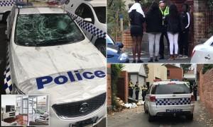 Victoria Police cars