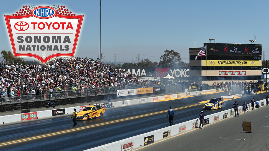 oyota NHRA Sonoma Nationals