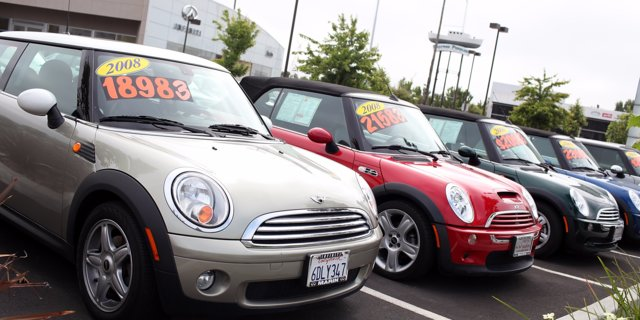 Used vehicle prices