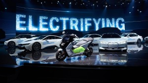 BMW's Hybrid, Electric Vehicle sales